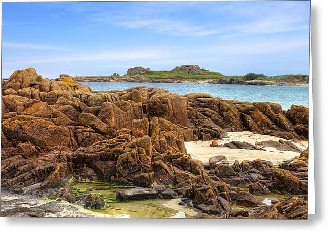 Grandes Rocques Fort - Guernsey Greeting Card