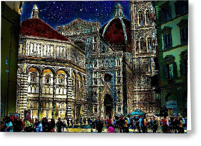 Grandeur Greeting Card by Cary Shapiro