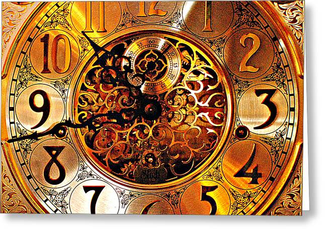 Grandfather Time Hdr Greeting Card by Frozen in Time Fine Art Photography