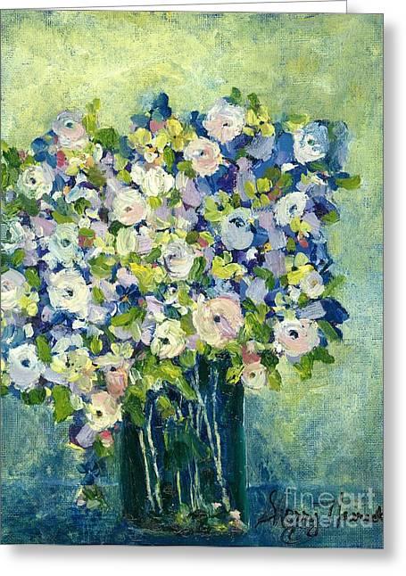 Grandma's Flowers Greeting Card