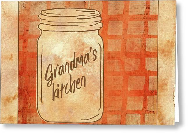 Grandma's Kitchen Greeting Card