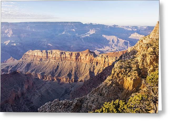 Grandview Sunset 2 - Grand Canyon National Park - Arizona Greeting Card by Brian Harig