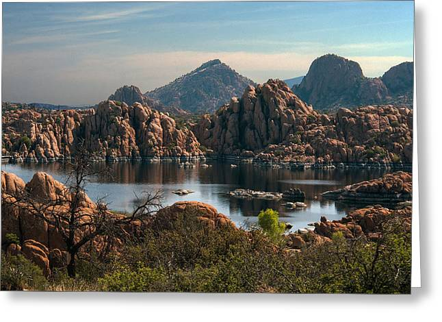 Granite Dells At Watson Lake Greeting Card
