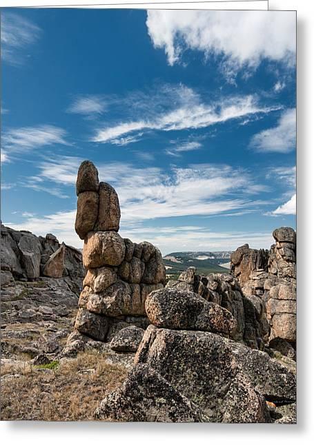Granite Forms Greeting Card