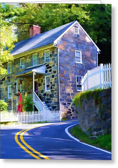 Greeting Card featuring the photograph Granite Hill by Dana Sohr