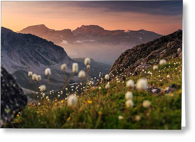 Granite Peak, Inside The Beartooth Greeting Card