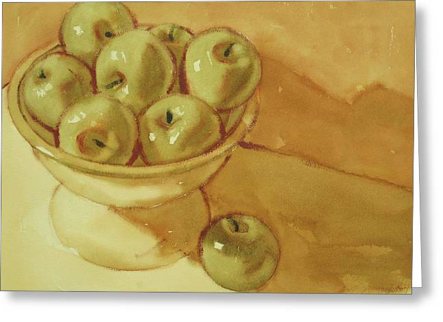 Granny Smiths Greeting Card
