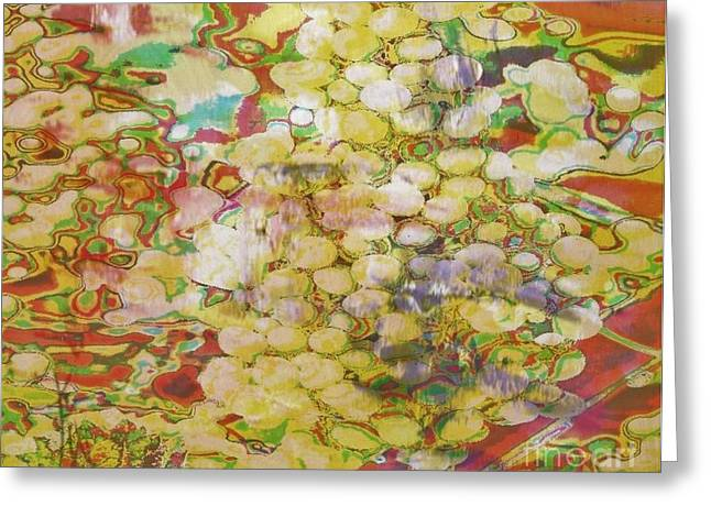 Grape Abundance Greeting Card