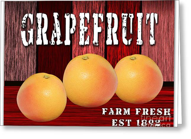 Grapefruit Farm Greeting Card by Marvin Blaine