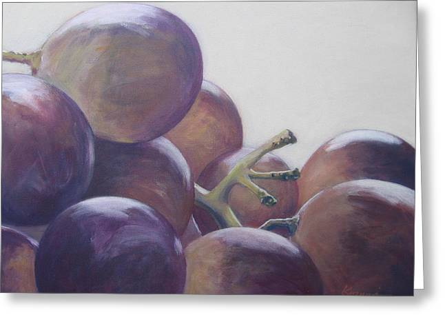Grapes No.5 Greeting Card