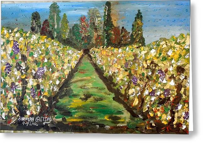 Grapes Of Tuscany Greeting Card