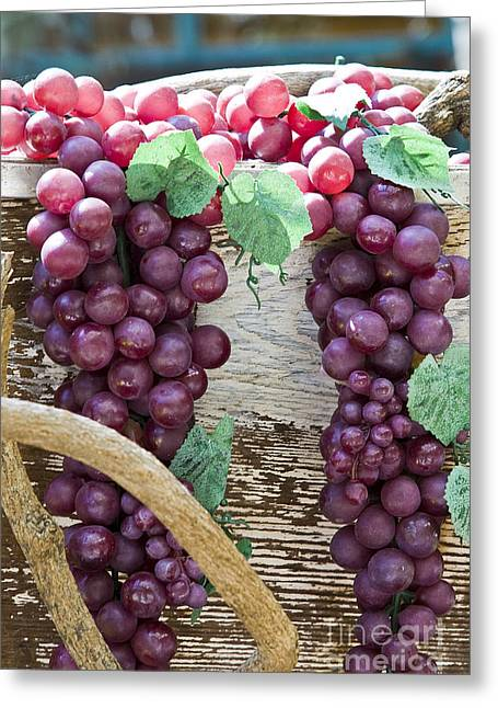 Grapes Greeting Card by Tim Hightower
