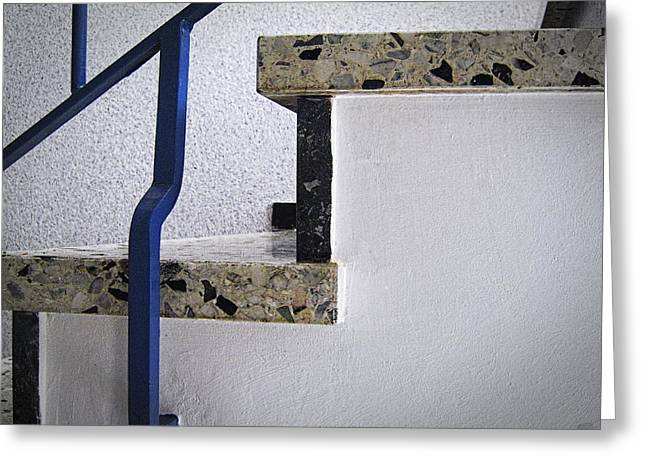 Graphical Stairs Greeting Card by Nafets Nuarb