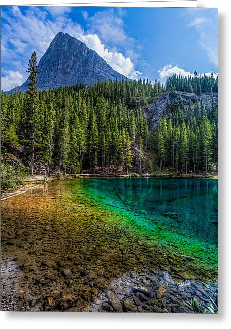 Grassi Lakes Canada Greeting Card by Tommy Farnsworth
