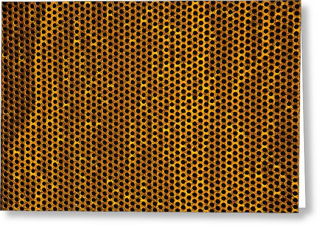 Grate Greeting Card by Mark Weaver