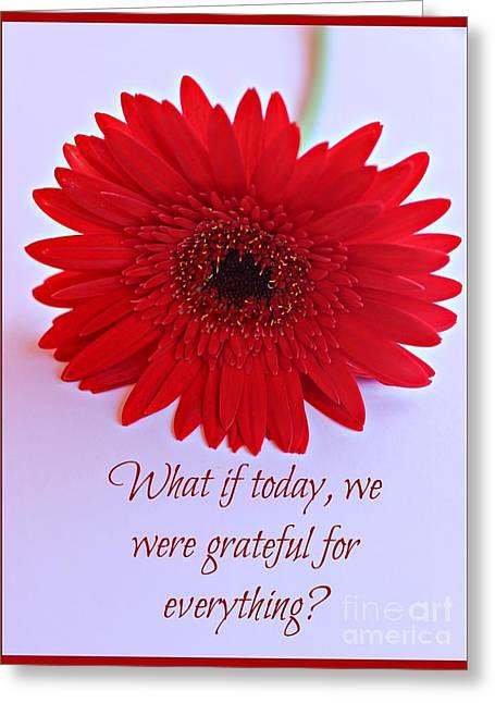 Grateful Greeting Card