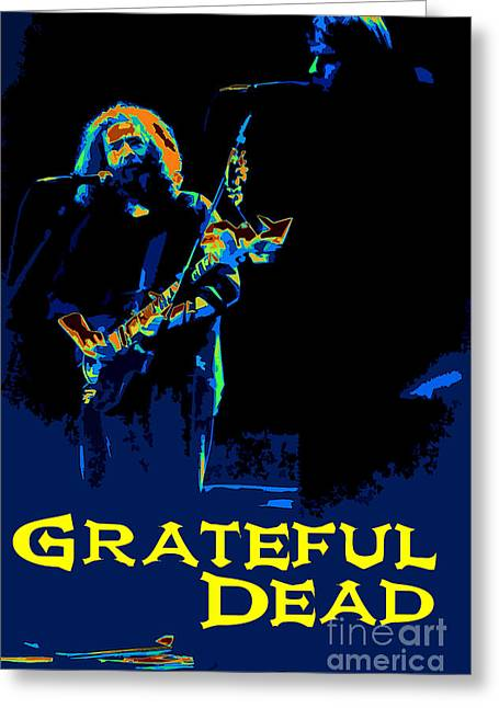 Grateful Dead - In Concert Greeting Card