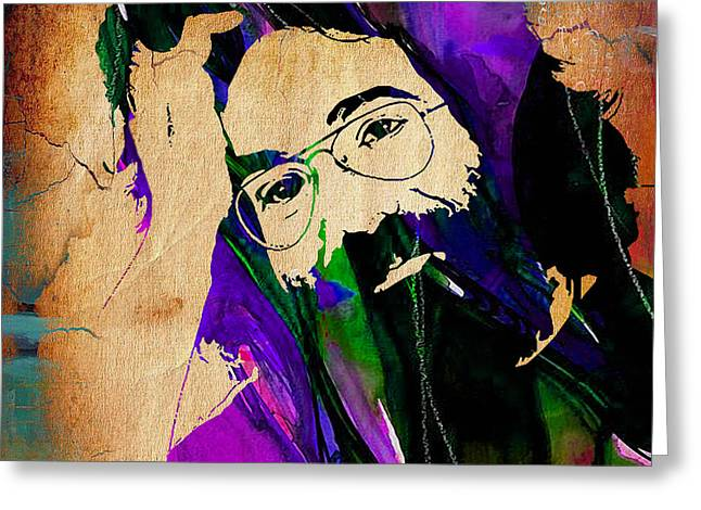 Grateful Dead Jerry Garcia Greeting Card