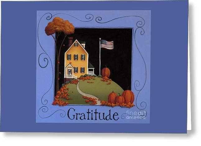 Gratitude Greeting Card by Catherine Holman