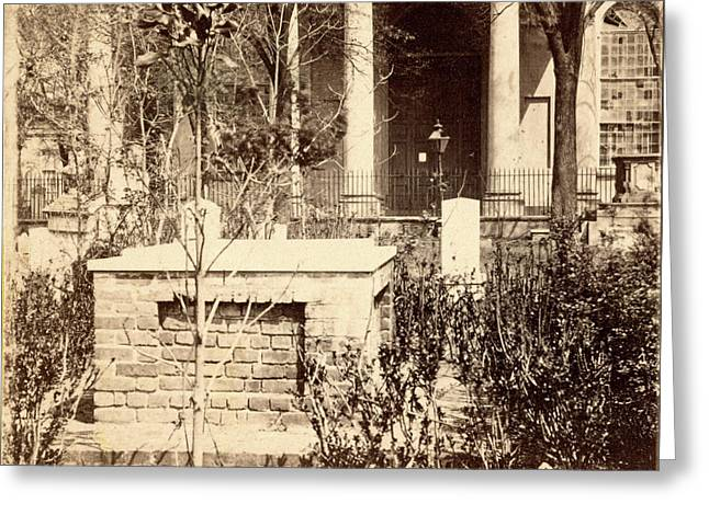Grave Of John C. Calhoun Greeting Card