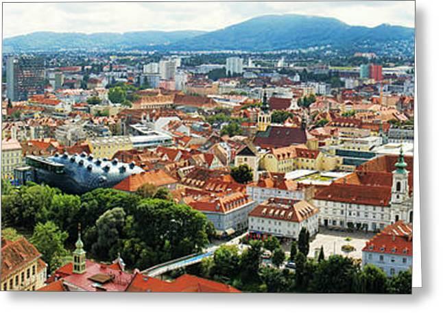 Graz Panorama Greeting Card