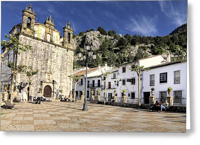 Grazalema Town Hall Square Greeting Card