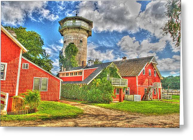 Grazing Fields Farm Bourne Cape Cod Greeting Card by Constantine Gregory