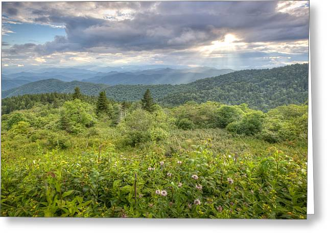 Great Balsam Mountains Greeting Card by Doug McPherson