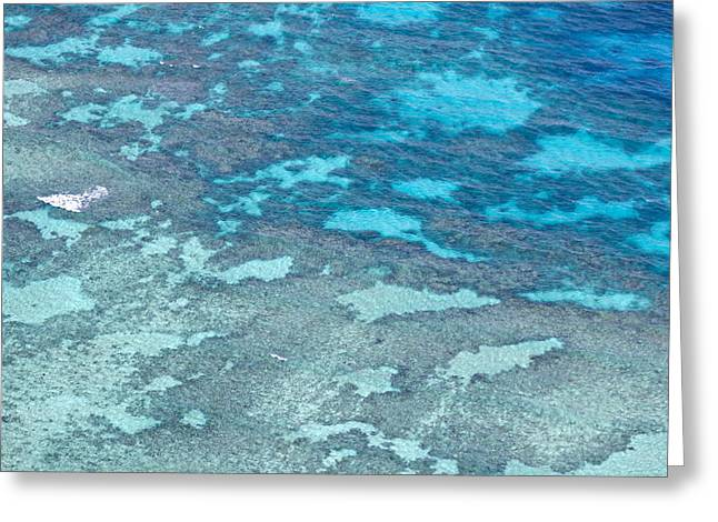 Great Barrier Reef From The Air Greeting Card