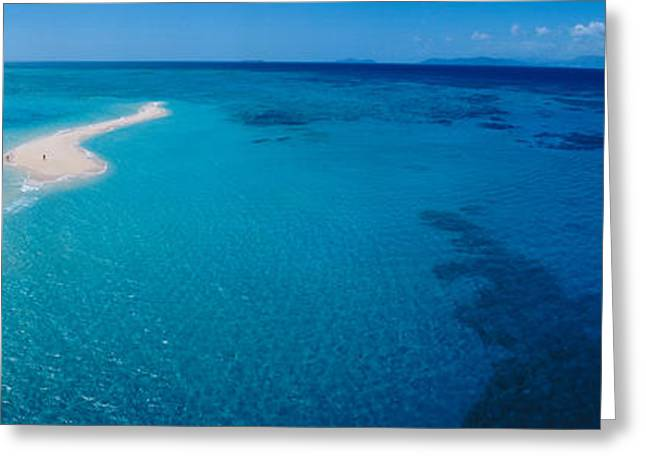 Great Barrier Reef, Queensland Greeting Card by Panoramic Images