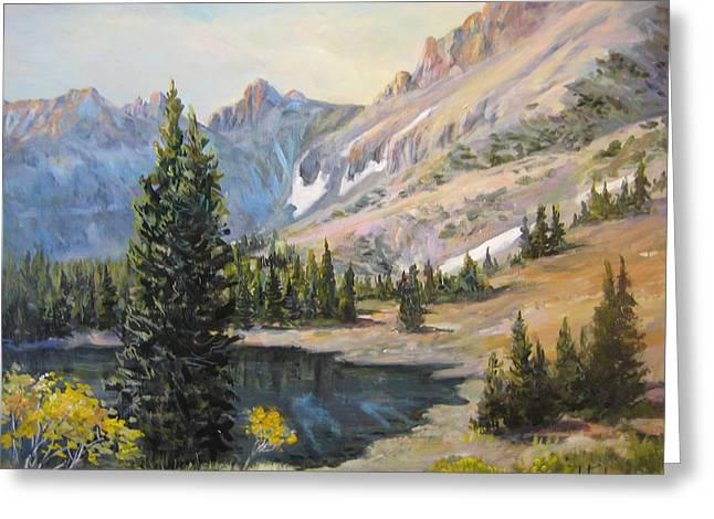 Great Basin Nevada Greeting Card by Donna Tucker