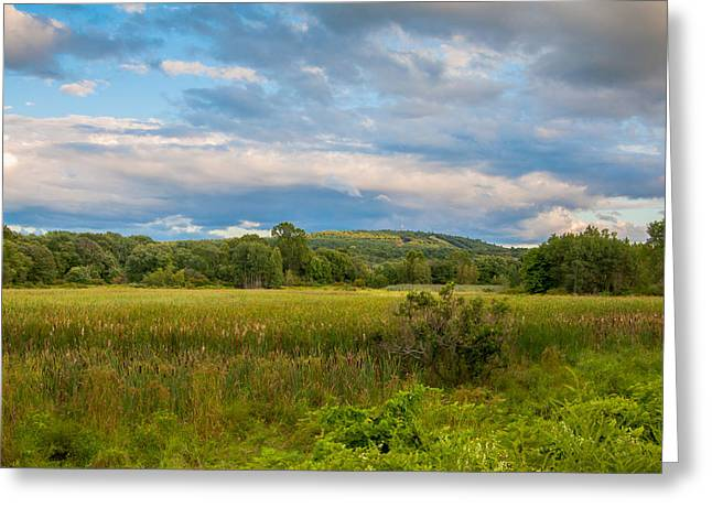 Great Blue Hill Greeting Card