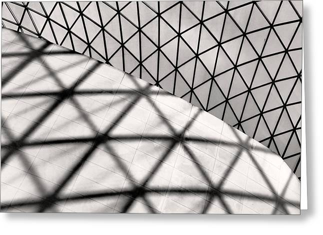 Great Court Abstract Greeting Card