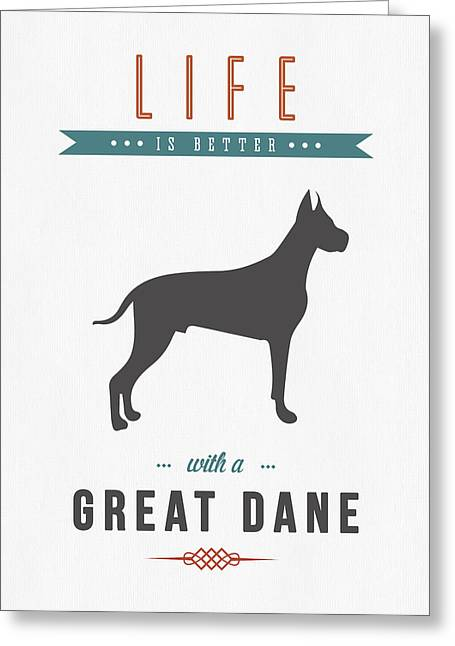 Great Dane 01 Greeting Card