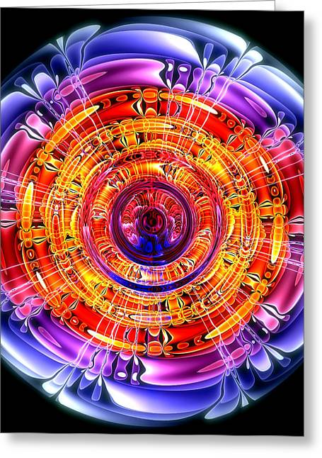 Great Energy Greeting Card by Pete Trenholm