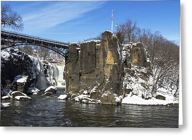 Great Falls In Color Greeting Card