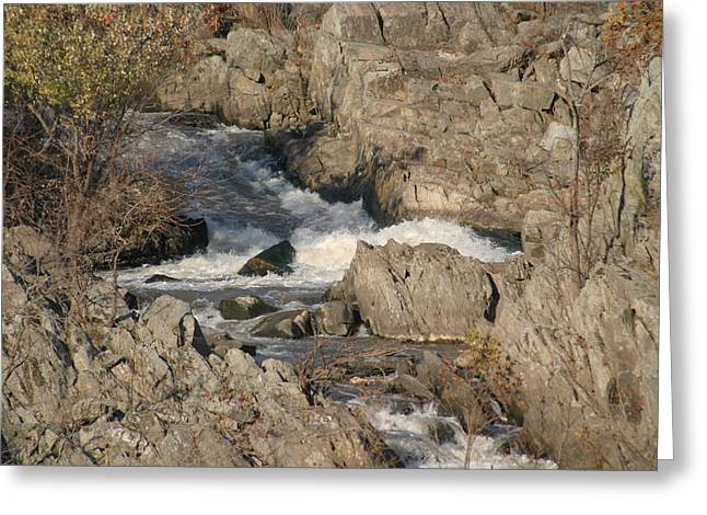 Great Falls Va - 121215 Greeting Card by DC Photographer