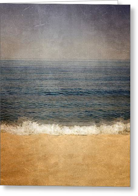 Great Lake Layers Greeting Card by Michelle Calkins
