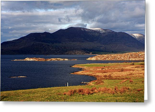 Lakes Of Ireland, Waterville, County Kerry Greeting Card by Aidan Moran
