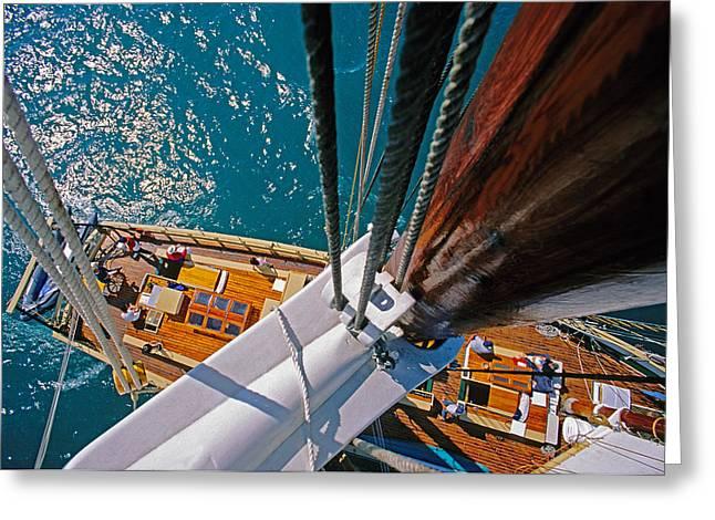 Great Lakes Tall Ship Greeting Card