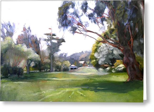 Great Meadow Golden Gate Park Greeting Card