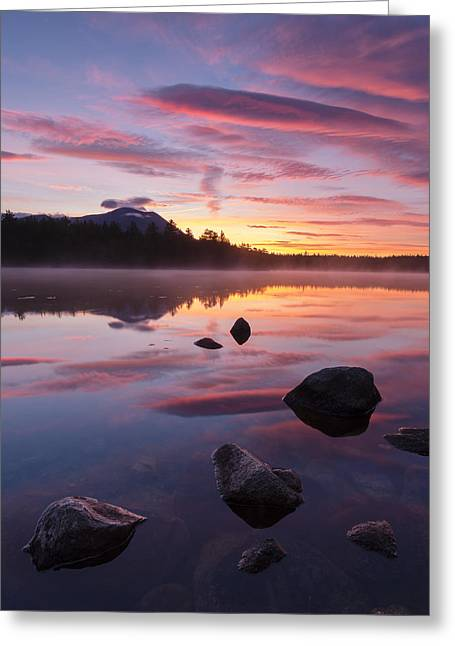 Greeting Card featuring the photograph Great Mountain Sunrise by Patrick Downey