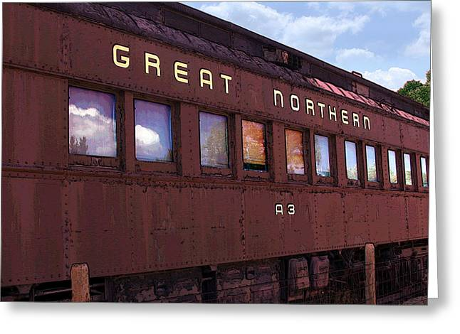 Greeting Card featuring the photograph Great Northern by David Armstrong