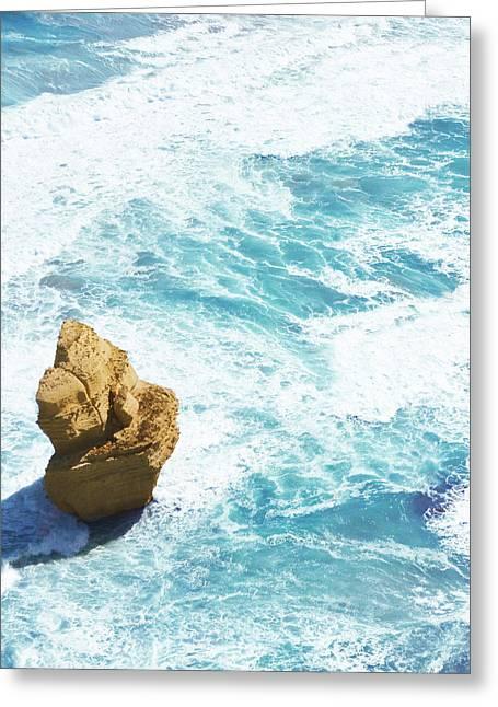 Great Ocean Road Apostle Greeting Card by Sherri Abell