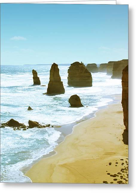 Great Ocean Road Greeting Card by Sherri Abell