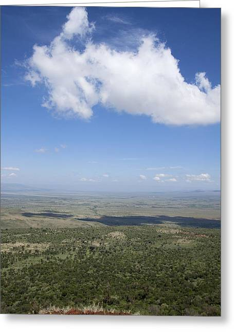 Great Rift Valley, Kenya Greeting Card