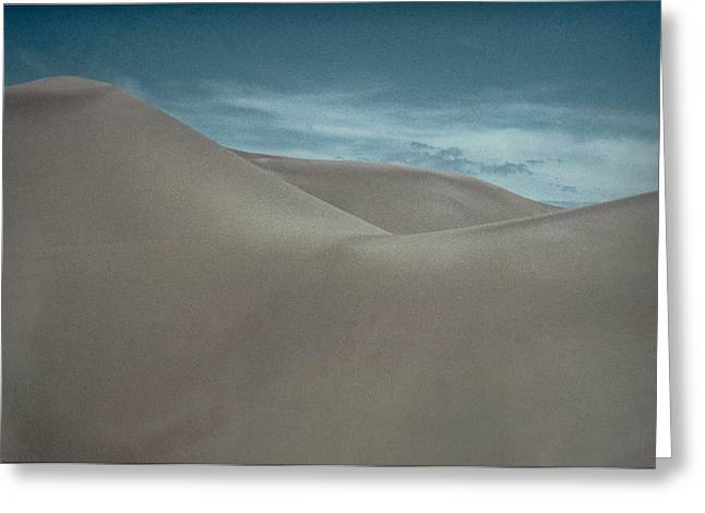 Greeting Card featuring the photograph Great Sand Dunes by Don Schwartz