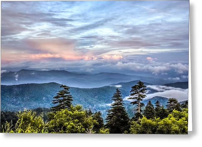 Greeting Card featuring the photograph Great Smoky Mountains by Rob Sellers