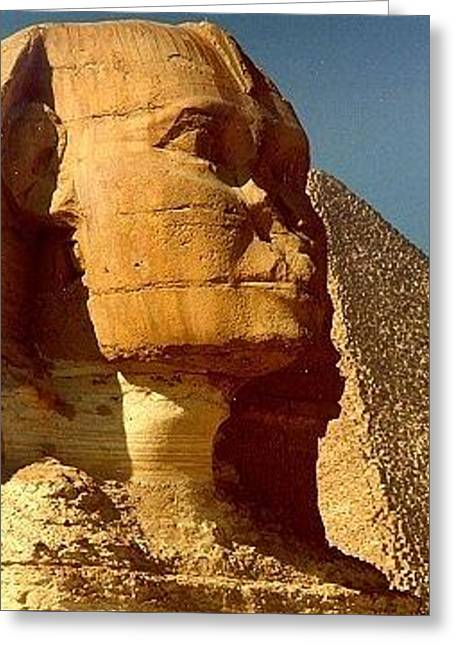 Great Sphinx Of Giza Greeting Card by Travel Pics