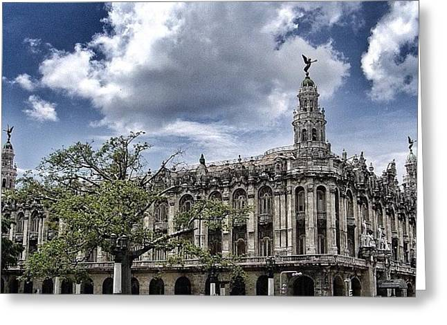 great Theater Of Havana ( Built On Greeting Card